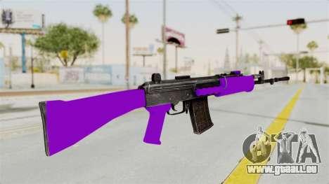 IOFB INSAS Violet pour GTA San Andreas deuxième écran