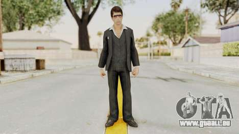 Scarface Tony Montana Suit v2 with Glasses für GTA San Andreas zweiten Screenshot