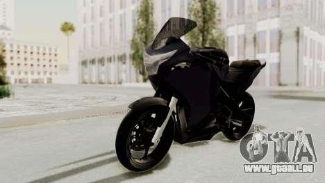 Honda CBR150i für GTA San Andreas zurück linke Ansicht