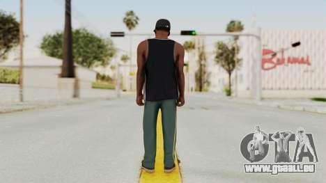 GTA 5 Franklin v3 pour GTA San Andreas troisième écran
