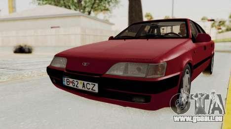 Daewoo Espero 1.5 GLX 1996 v2 Final für GTA San Andreas zurück linke Ansicht