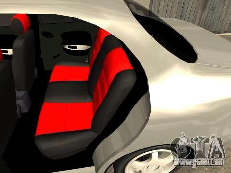 Daewoo Lanos (Sens) 2004 v2.0 by Greedy pour GTA San Andreas vue de dessus