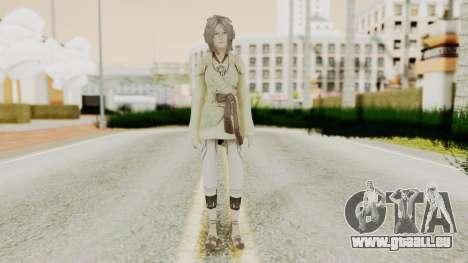 Nora - Final Fantasy XIII pour GTA San Andreas deuxième écran