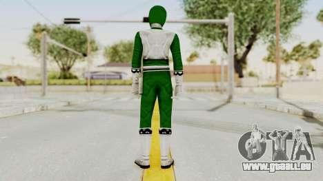 Power Rangers Lost Galaxy - Green pour GTA San Andreas troisième écran