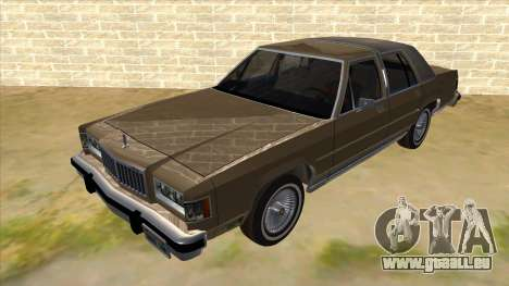 Mercury Grand Marquis 1986 v1.0 pour GTA San Andreas