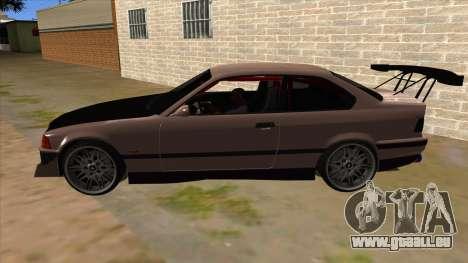 BMW M3 Drift Missile pour GTA San Andreas laissé vue