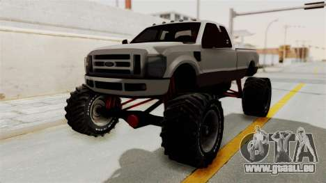 Ford F-350 Super Duty Monster Truck für GTA San Andreas