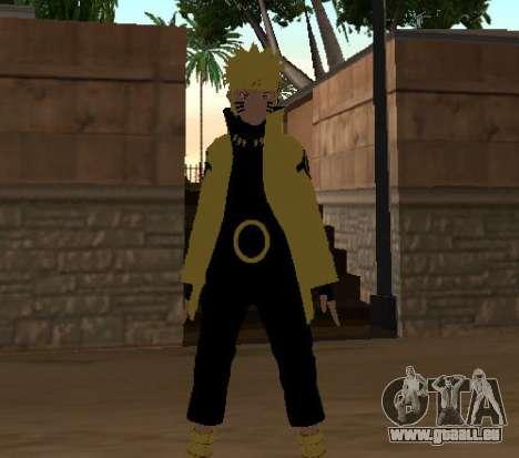 Naruto Ashura pour GTA San Andreas troisième écran
