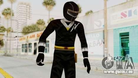 Alien Rangers - Black pour GTA San Andreas