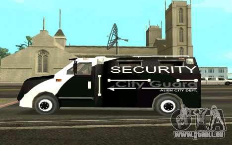 Van collectionneurs pour GTA San Andreas laissé vue