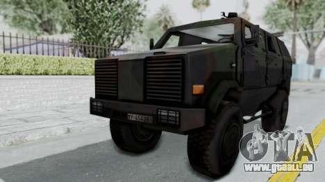 ATF Dingo für GTA San Andreas