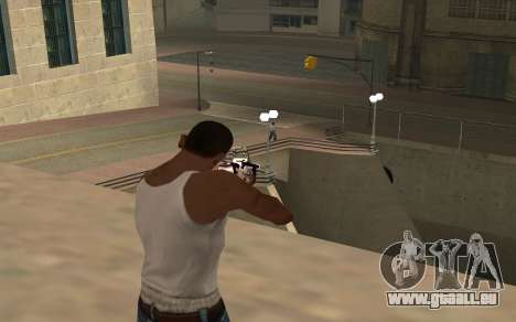 Purple fire weapon pack für GTA San Andreas sechsten Screenshot
