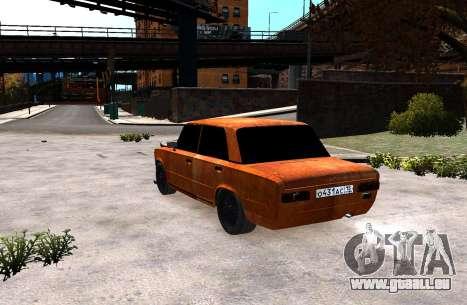 VAZ 2101 Clochard pour GTA 4 est une gauche