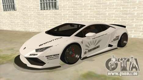 Lamborghini Huracan Liberty Walk für GTA San Andreas