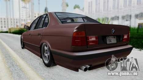BMW 525i E34 1994 SA Plate für GTA San Andreas linke Ansicht