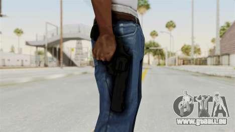 Colt .357 Black für GTA San Andreas dritten Screenshot