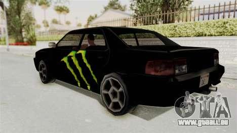 Monster Sultan pour GTA San Andreas laissé vue