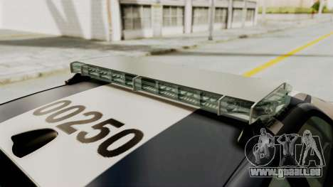 Dodge Charger RT 2016 Federal Police für GTA San Andreas Motor