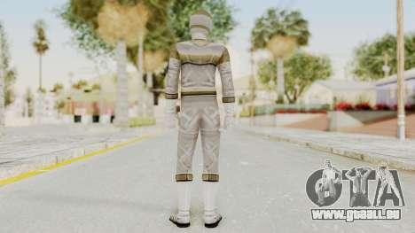 Power Rangers In Space - Silver pour GTA San Andreas troisième écran