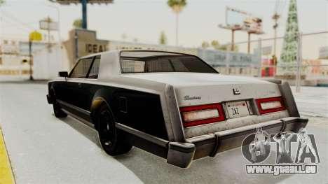 GTA 5 Dundreary Virgo IVF pour GTA San Andreas vue de droite
