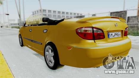 Nissan Maxima Spyder für GTA San Andreas rechten Ansicht