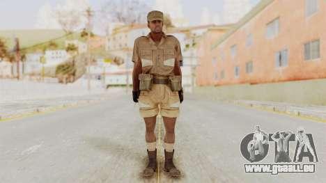 MGSV Phantom Pain CFA Soldier v1 für GTA San Andreas zweiten Screenshot