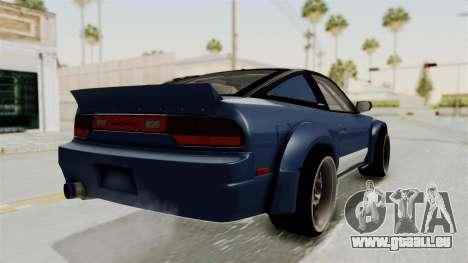 Nissan Silvia Sil80 pour GTA San Andreas vue de droite