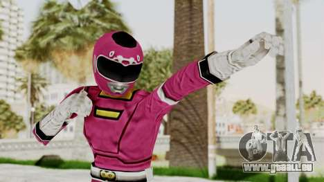 Power Rangers Turbo - Pink für GTA San Andreas