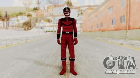 Power Rangers Time Force - Quantium für GTA San Andreas zweiten Screenshot
