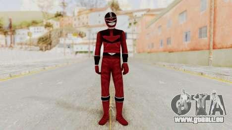 Power Rangers Time Force - Quantium pour GTA San Andreas deuxième écran