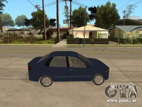 Datsun on-DO pour GTA San Andreas vue de droite