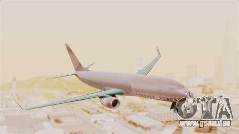 Boeing 737-3U3 Garuda Indonesia pour GTA San Andreas sur la vue arrière gauche