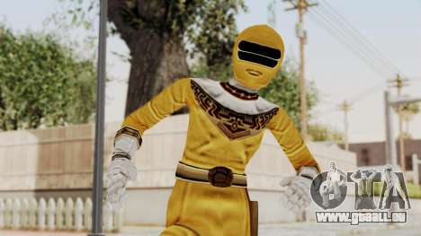 Power Ranger Zeo - Yellow für GTA San Andreas