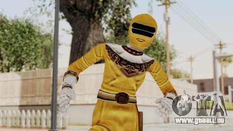 Power Ranger Zeo - Yellow pour GTA San Andreas
