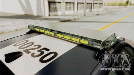 Dodge Charger RT 2016 Federal Police für GTA San Andreas Räder