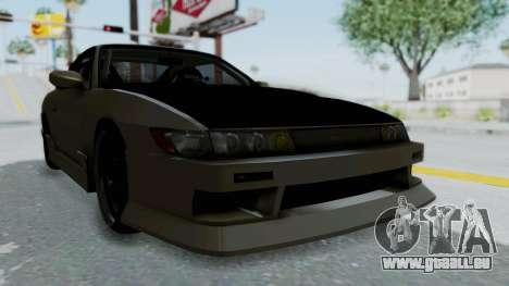Nissan Sileighty TOD für GTA San Andreas rechten Ansicht
