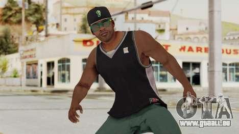 GTA 5 Franklin v3 für GTA San Andreas