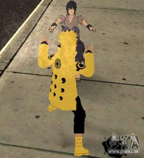 Naruto Ashura pour GTA San Andreas quatrième écran