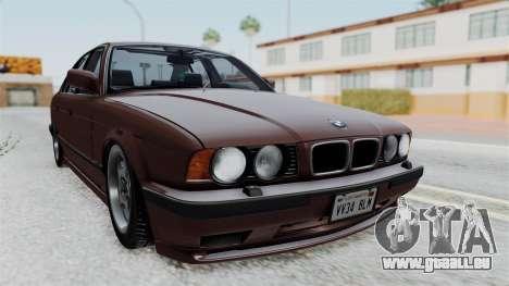 BMW 525i E34 1994 SA Plate für GTA San Andreas