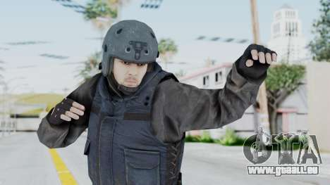 MGSV Phantom Pain Zero Risk Vest v2 pour GTA San Andreas