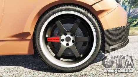 GTA 5 Subaru BRZ Rocket Bunny hinten rechts