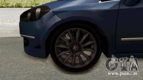 Fiat Linea 2011 für GTA San Andreas Rückansicht