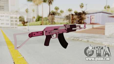 Assault Rifle Pink für GTA San Andreas dritten Screenshot