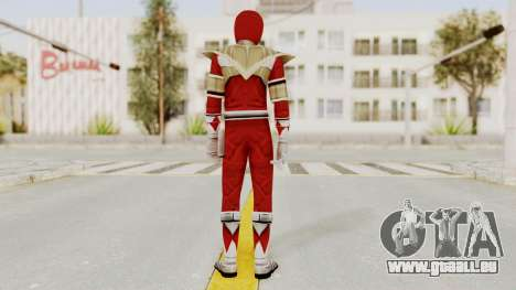 Mighty Morphin Power Rangers - Red Armor für GTA San Andreas dritten Screenshot