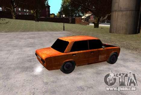 VAZ 2101 Clochard pour GTA 4 Vue arrière