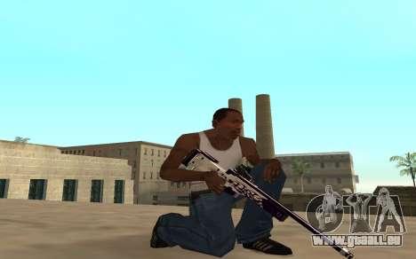 Purple fire weapon pack für GTA San Andreas fünften Screenshot