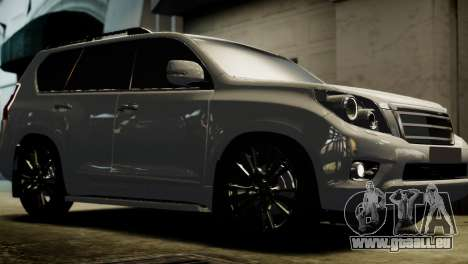 Toyota Land Crusier Prado 150 für GTA 4 hinten links Ansicht