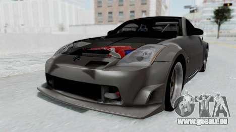 Nissan 350Z V6 Power pour GTA San Andreas vue de droite