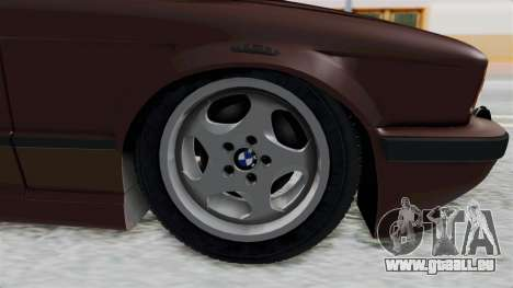 BMW 525i E34 1994 SA Plate für GTA San Andreas Rückansicht