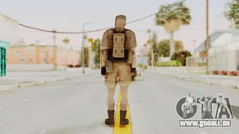 MGSV Phantom Pain CFA Combat Vest 2 v2 pour GTA San Andreas troisième écran